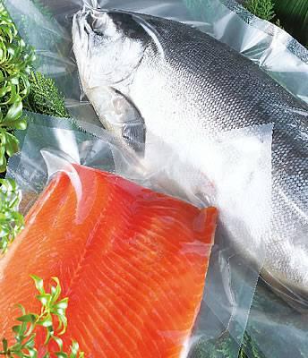 新巻鮭用袋 無地(小) 0.095×250×850 300枚