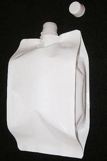 白色16口径キャップ袋1000ml 130×80×240 300枚