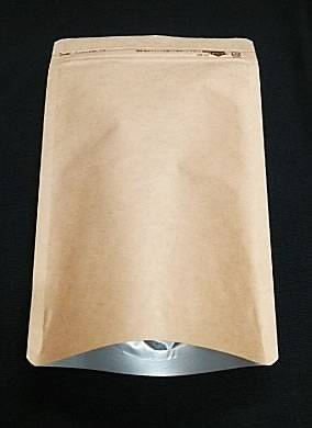 クラフト(茶色)アルミチャックスタンド160×230+47
