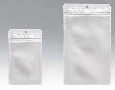 チャック付表透明裏アルミ平 140×185 1,500枚