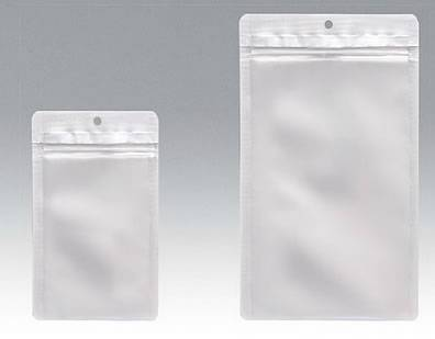 チャック付表透明裏アルミ平 200×265 1,000枚