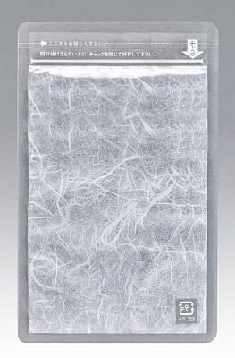 チャック付片面雲流袋0.075×120×170+27 1,000枚