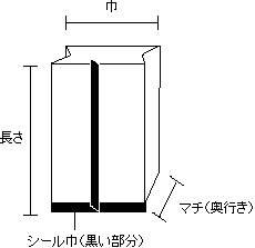 気体遮断ボイルガゼット 0.065×45×25×270 1,000枚